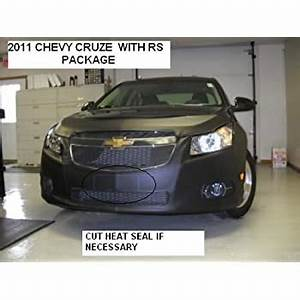 2012 Chevy Cruze Eco Fog Lights Amazon Com Lebra 2 Piece Front End Cover Black Car Mask