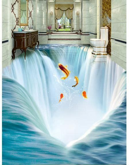 3d Epoxy Wallpapers by 3d Floor Murals For Bathrooms Using Epoxy Paint
