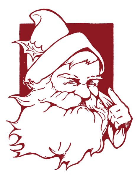 vintage christmas clip art cute santa  graphics fairy