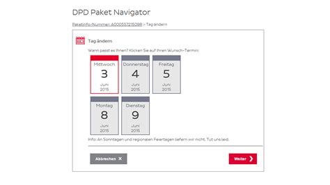 DPD LiveTracking  ein Paket sucht seinen Empfänger