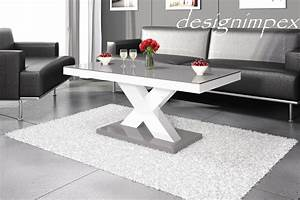 Tisch Weiß Hochglanz : design couchtisch h 888 wei grau hochglanz highgloss tisch wohnzimmertisch hochglanzm bel ~ Eleganceandgraceweddings.com Haus und Dekorationen