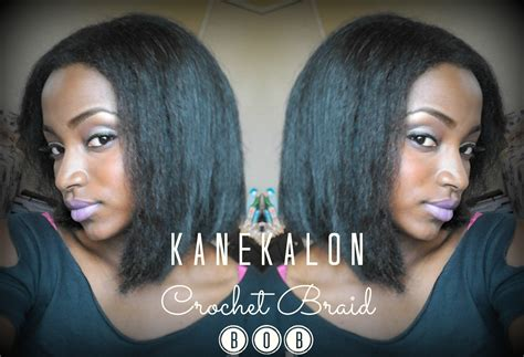 Kanekalon Crochet Braid Bob (+ Cutting & Styling Tips