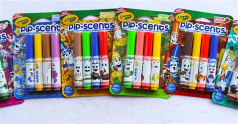 4 Count Pip•scents Washable Markers