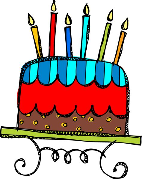Birthday Cake Clipart Clipartioncom
