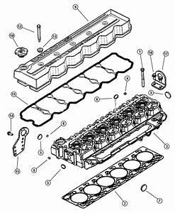 1998 Dodge Ram 3500 Grommet  Valve Cover Seal  Emissions