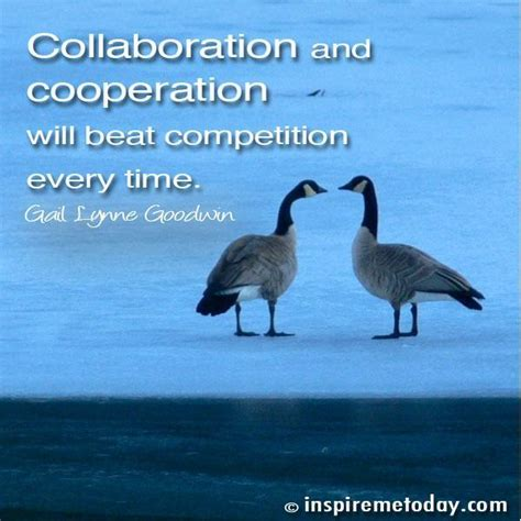 collaboration  cooperation  beat competition