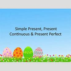 Simple Present Simple And Continuous Presentation Explanation Powerpoint