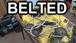 John Deere X300 Deck Belt Diagram
