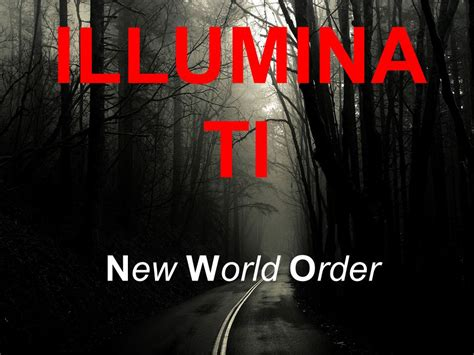 nwo illuminati illuminati new world order ppt