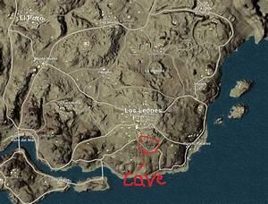 PUBG - Cave Location in the Desert Map (Miramar)