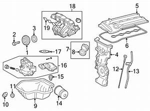 Toyota Matrix Engine Crankshaft Seal  2 4 Liter  Transaxle