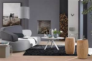 Grau Grün Wandfarbe : mut zur wandfarbe grau bild 17 living at home ~ Frokenaadalensverden.com Haus und Dekorationen