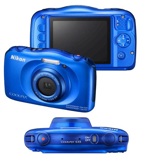 coolpix s33 sle images nikon coolpix s33 digital with 3x zoom blue at Nikon