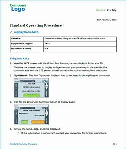 standard operating procedures karen rempel new york With sop documentation software