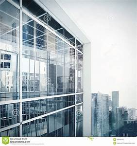 Exterior Of Glass Office Building Royalty-Free Stock Photo ...