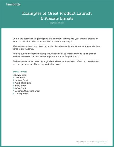 new product launch email template exles of great product launch presale emails conradwa