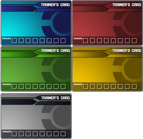 photo card maker templates pokemon trainer card templates by ford206 on deviantart