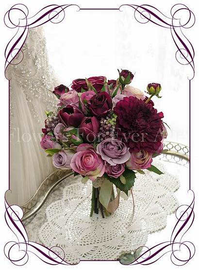 Megan Bouquet Bridal Flowers Artificial Silk