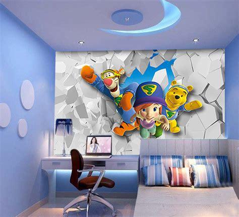 tapisserie moderne pour chambre papier peint 3d pour enfant
