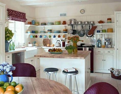 setting up kitchen cabinets decoraci 243 n de cocinas con baldas y estantes ideas casas 5135