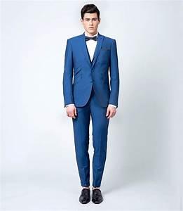 Costume Sur Mesure Mariage : costume 3 pi ces bleu ikb samson sur mesure ~ Melissatoandfro.com Idées de Décoration