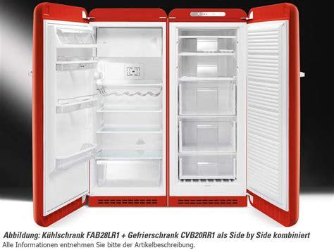 Side By Side Kühlschrank Groß by Smeg Fab28lr1 Stand K 252 Hlschrank Rot F 252 R 1099 00 Eur Shop