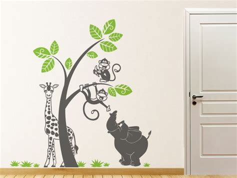Babyzimmer Gestalten Wandtattoos by 25 Einzigartige Wandtattoo Baum Kinderzimmer Ideen Auf