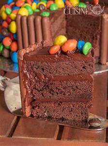 Faire Un Gateau D Anniversaire : le gravity cake gateau d 39 anniversaire au chocolat m ms amour de cuisine ~ Carolinahurricanesstore.com Idées de Décoration