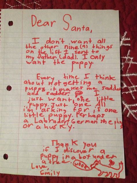 Letter To Santa  Ee  Eight Ee    Ee  Year Ee    Ee  Old Ee   Tries To Emotionally