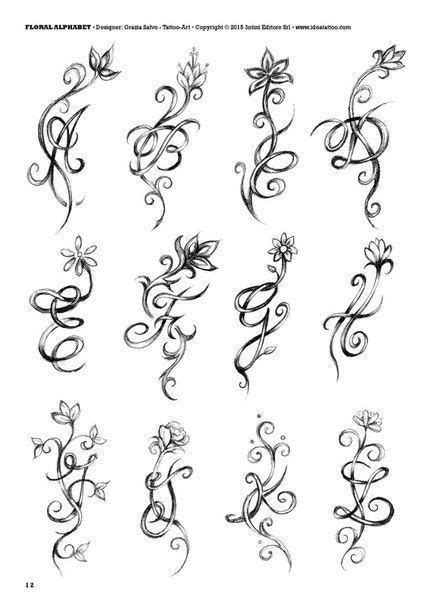 Pin by Kristine Fincher on Fonts | Initial tattoo