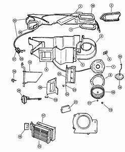 Dodge Durango Resistor  Blower Motor  Heater  Unit  Air