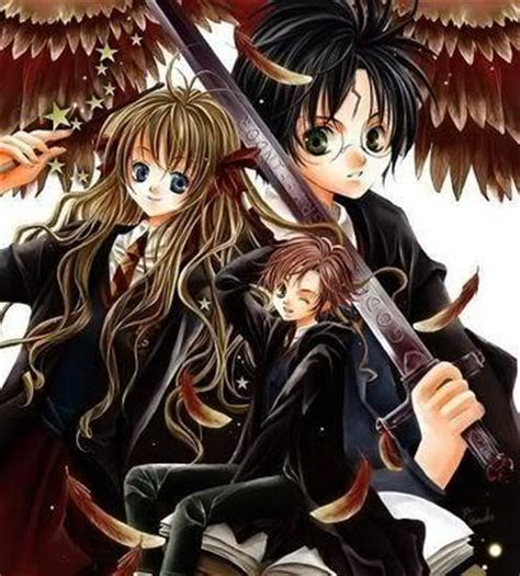 Anime Wallpaper Harry Potter by Post A Picture Of The Characters Of Harry Potter In Anime