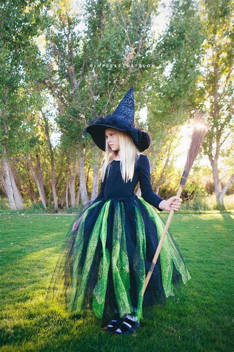 How To Make Easy Halloween Costumes Witch Red Ted Arts Blog
