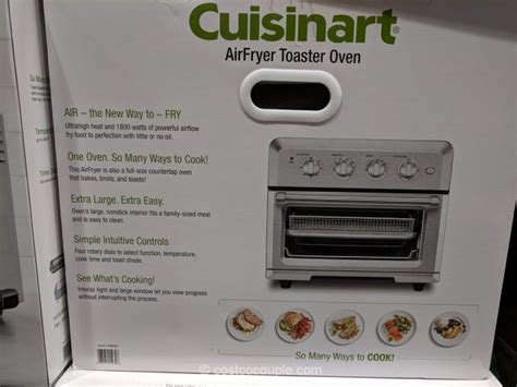 cuisinart oven toaster airfryer costco