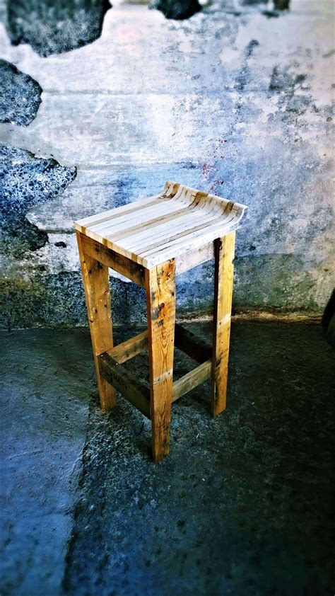 pallet bar stool  pallets
