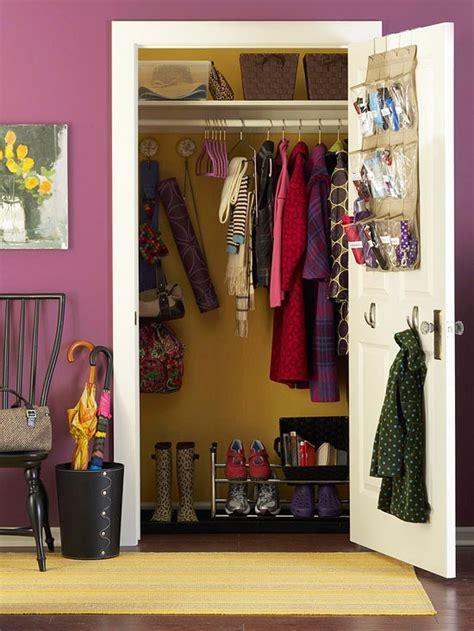 Entry Closet Organization Ideas  Home Decorating Ideas