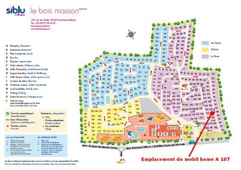 plan du cing club le bois masson 224 jean de monts