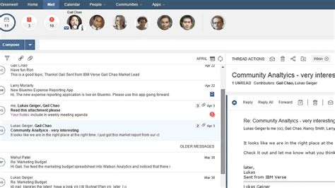 Ibm Verse Connect And Collaborate