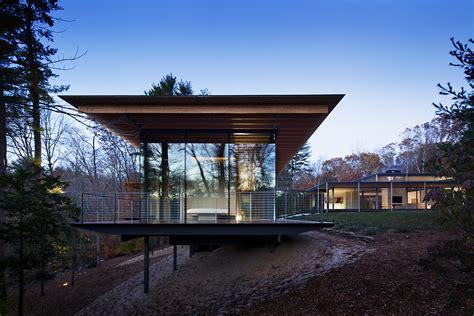 Modern Wood House Wood And Glass House, Modern House Glass