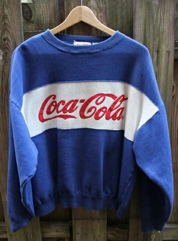 retro coca cola genser solgt bloppis
