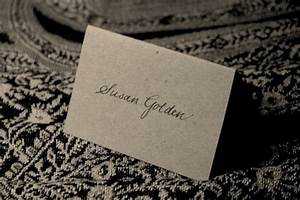 calligraphy styles With examples of wedding place cards