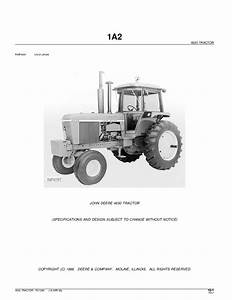 Tractor John Deere 4630 Parts Manual Pdf Download