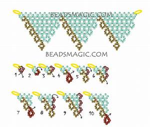 Free Pattern For Beaded Necklace Atlanna