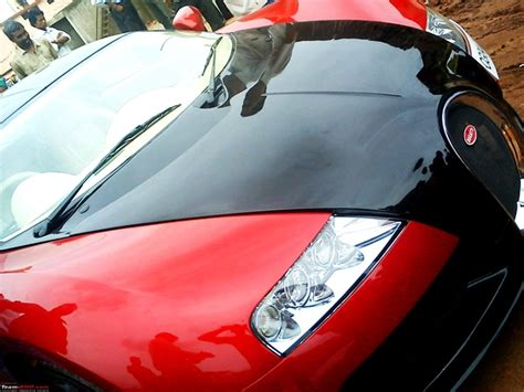 honda city converted  bugatti veyron