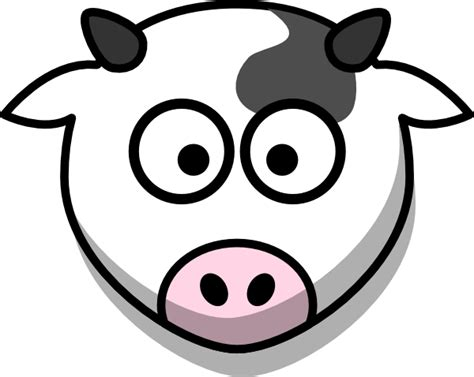 Free Cow Face Cartoon Download Free Clip Art Free Clip