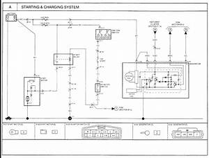2002 Kia Sedona Alternator Wiring Diagram