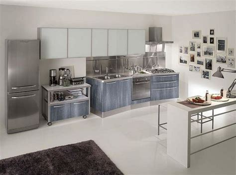 awesome stainless steel kitchen design ideas
