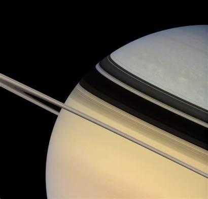 Saturn Cassini Ring Crosses Plane 2007 February