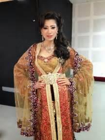 femme marocaine pour mariage robe caftan perlé modèles 2017 caftan mode