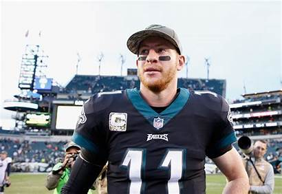 Carson Wentz Eagles Philadelphia Broncos Denver Quarterback